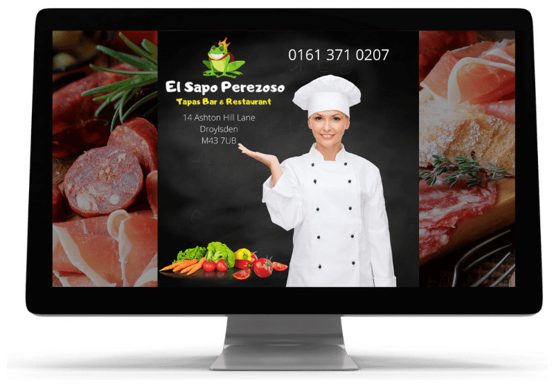 image of lady chef at El Sapo Perezoso